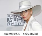 lady gaga at the 2016 american... | Shutterstock . vector #522958780