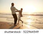 full length shot of romantic...   Shutterstock . vector #522964549