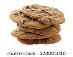 Oatmeal Cookie Isolated On...