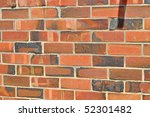 wall from the red bricks.... | Shutterstock . vector #52301482