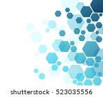 background from colorful... | Shutterstock .eps vector #523035556