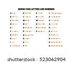 International Morse Code...