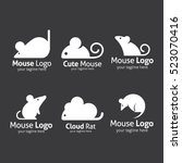 Mouse Logo Design Template....
