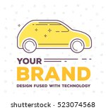 vector creative illustration of ... | Shutterstock .eps vector #523074568