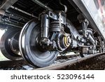 train car undercarriage | Shutterstock . vector #523096144