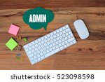 Small photo of Admin, Technology Concept