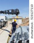 construction worker | Shutterstock . vector #523127110