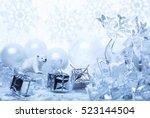 Happy New Year In Snowy Topics