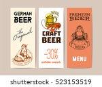 Beer  Vintage Frame Design For...