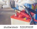 Stock photo maintenance car battery by yoursalf 523195339