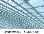 building construction of metal... | Shutterstock . vector #523204204