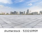 panoramic skyline and buildings ... | Shutterstock . vector #523210909