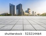 empty floor with modern... | Shutterstock . vector #523214464