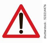warning sign vector   Shutterstock .eps vector #523214476