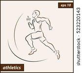 vector illustration.... | Shutterstock .eps vector #523220143