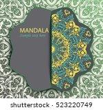 flyer  leaflet  brochure  cover ...   Shutterstock .eps vector #523220749