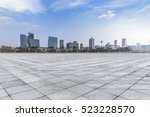 panoramic skyline and buildings ... | Shutterstock . vector #523228570