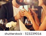 picture of romantic couple... | Shutterstock . vector #523239016