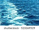atlantic ocean with blue water... | Shutterstock . vector #523269529