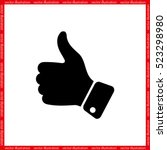 Thumb Up Icon Vector...