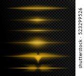 transparent light effects ... | Shutterstock .eps vector #523299526