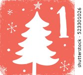 advent christmas calendar ...   Shutterstock .eps vector #523301026