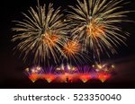 Colorful Fireworks Light Up Th...