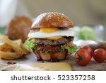hamburger | Shutterstock . vector #523357258
