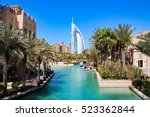 burj al arab seen from madinat... | Shutterstock . vector #523362844