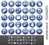 modern icons set vol.6 | Shutterstock .eps vector #52336291