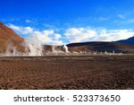 The Geysers Of El Tatio  The...