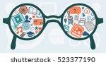 vector illustration of... | Shutterstock .eps vector #523377190