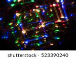 dark abstract out of focus... | Shutterstock . vector #523390240