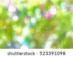 abstract bokeh background of... | Shutterstock . vector #523391098