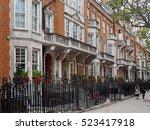 Elegant Row Of Townhouses On...