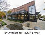 seattle  washington usa  ... | Shutterstock . vector #523417984