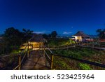 home stay in the northern of... | Shutterstock . vector #523425964