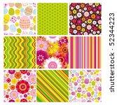 vector big set of  backgrounds...   Shutterstock .eps vector #52344223