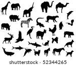 animals | Shutterstock .eps vector #52344265