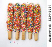 Colorful Biscuit Stick Coated...