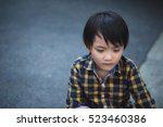 fear  loneliness  depression ... | Shutterstock . vector #523460386