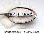 diabetes concept suggesting no...   Shutterstock . vector #523476526