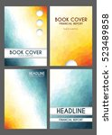 book front page  backgrounds....   Shutterstock .eps vector #523489858