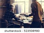fashion design research magazine | Shutterstock . vector #523508980