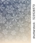 background with snowflakes   Shutterstock .eps vector #523528573