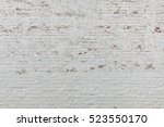 Brick Wall Texture. Old White...