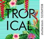 Tropical Composition   Text ...