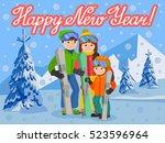 Congratulation Card New Year...