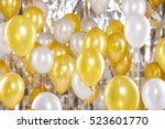 Golden And Silver Balloons...