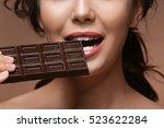 Beautiful Girl With Chocolate...